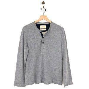 Banana Republic Men's Long Sleeve Henley Shirt M
